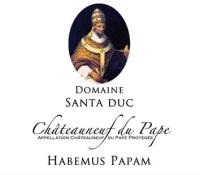 Chateauneuf du Pape Habemus Papam