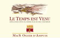 Cotes du Rhone Villages Plan de Dieu Le Temps est venu 2012