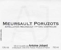 Meursault Poruzot 1er Cru 2012
