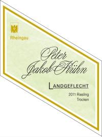 Riesling Landgeflecht PJK. Unikat trocken 2012