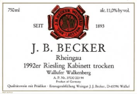 Riesling Kabinett trocken Wallufer Walkenberg