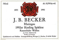 Riesling Spätlese Rauenthaler Wülfen (fruchtsüß) 1992