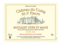 Muscadet Sevre et Maine sur lie de Saint Fiacre 2013