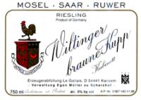 Le Gallais Wiltinger braune Kupp Kabinett (fruchtsüß)
