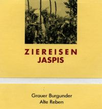 Jaspis Grauer Burgunder