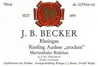 Riesling Auslese trocken Martinsthaler Rödchen 1989