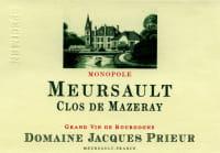 Meursault Clos de Mazeray blanc 2013