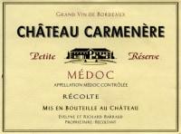 Chateau Carmenere Petit Reserve