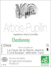Chardonnay Arbois Pupillin La Cave de la Reine Jeanne