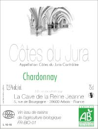 Chardonnay Cotes du Jura La Cave de la Reine Jeanne 2011