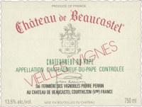 Chateauneuf du Pape Chateau de Beaucastel 2012