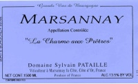 Marsannay Blanc La Charme aux Pretres 2017