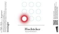 Blaufränkisch Hochäcker 2015