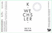 Riesling Benn trocken 2014
