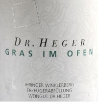 Grauburgunder Winklerberg hinter Winklen Gras im Ofen Großes Gewächs 2014