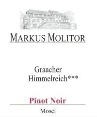Pinot Noir Graacher Himmelreich *** trocken 2011