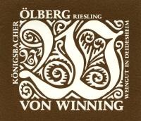 Riesling Königsbacher Ölberg trocken 2016