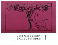 Pinot Noir Schweigen 2011