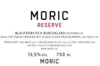 Blaufränkisch Moric Reserve 2012