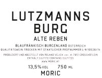 Blaufränkisch Alte Reben Lutzmannsburg 2013