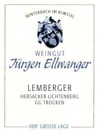 Hebsacker Lichtenberg Lemberger Großes Gewächs 2011