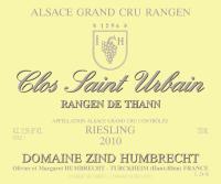 Riesling Rangen de Thann Clos Saint Urbain Grand Cru 2013