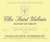 Gewürztraminer Rangen de Thann Clos Saint Urbain Grand Cru (fruchtsüß)