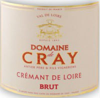 Cremant Domaine de Cray Brut de Brut Flaschengärung 2011