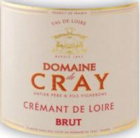 Cremant Domaine de Cray Brut de Brut Flaschengärung