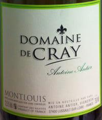 Domaine de Cray Montlouis Sec