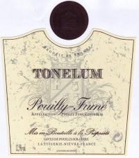Pouilly Fume Tonelum