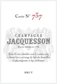 Champagne Cuvee 737 Flaschengärung