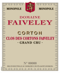Corton Clos des Cortons Grand Cru