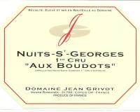Nuits Saint Georges 1er Cru Aux Boudots