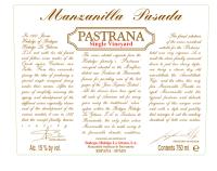 Sherry Manzanilla Pasada Pastrana (fruchtsüß)