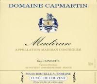 Madiran Vieilles Vignes Cuvee du Couvent 2012