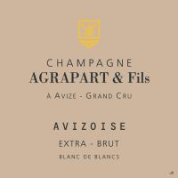 Champagne Extra Brut Avizoise Blanc de Blancs Grand Cru Flaschengärung 2008