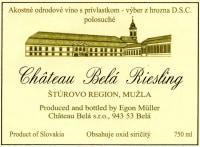 Riesling Chateau Bela trocken