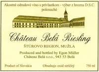 Riesling Chateau Bela