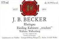 Riesling Kabinett Wallufer Oberberg trocken 1988