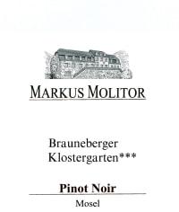 Pinot Noir Brauneberger Klostergarten *** trocken