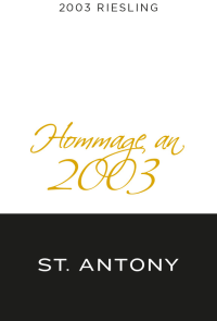 Riesling Hommage 2003