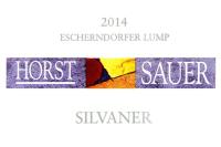 Silvaner trocken Escherndorfer Lump 2014