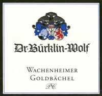 Riesling Wachenheimer Goldbächel Premier Cru
