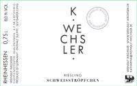 Riesling Schweißtröpfchen (fruchtsüß) 2014