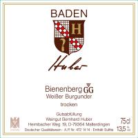 Weißer Burgunder Bienenberg Großes Gewächs 2012