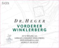 Riesling Vorderer Winklerberg Großes Gewächs trocken 2014