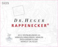 Spätburgunder Ihringer Winklerberg Rappenecker Großes Gewächs