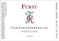 Riesling Centgrafenberg Großes Gewächs trocken 2014