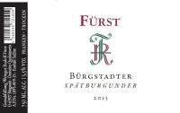 Spätburgunder Bürgstadter 2016